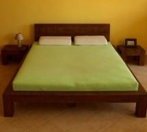 Čo s malým priestorom v spálni .