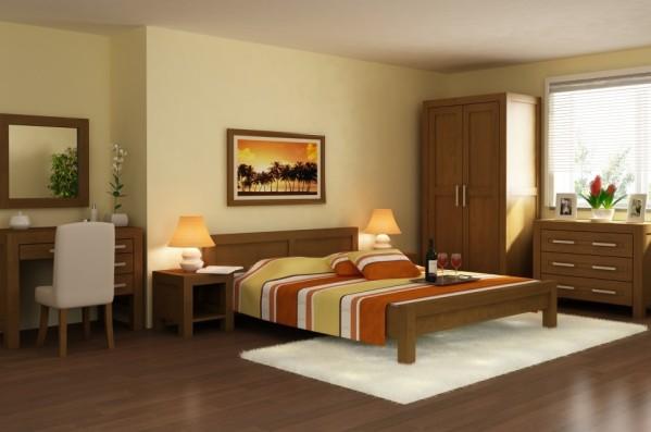 Postele z masívu do spálne