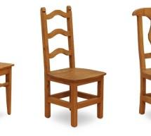 Pohodlné jedálenské stoličky
