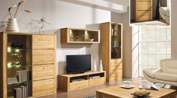 Moderný nábytok z dreva