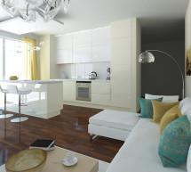 Efektívne prepojenie kuchyne a obývačky