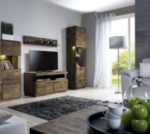 Nábytok do obývačky z masívneho dreva