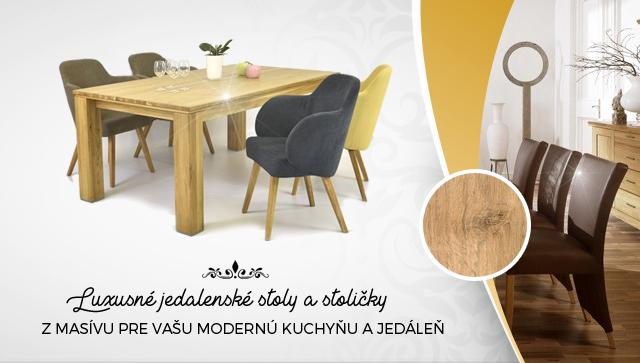 Dizajnový nábytok do jedálne